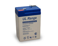 Ultracell UL 4,5-6 PS640 FG10451 Bleigel 6V 4,5 AH 70x47x100