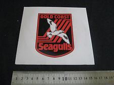 ARL GOLD COAST SEAGULLS STICKER 16cm Round - NEW!
