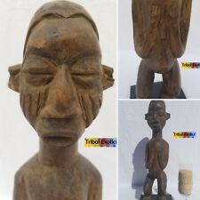 AUTHENTIC Yaka Bayaka Figure Sculpture Statue Mask Fine African Art