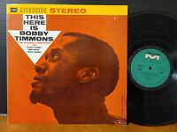 Bobby Timmons - This Here Is Bobby Timmons Riverside Sam Jones Jimmy Cobb LP VG+