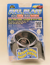 Extra Loud Universal Black High Tone Replacement Horn - 12 Volt - Wolo 385-2T