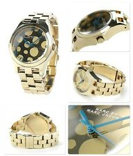 MARC BY JACOBS LUXURY ALL GOLD  CIRCLES DETAIL WATCH MBM3267
