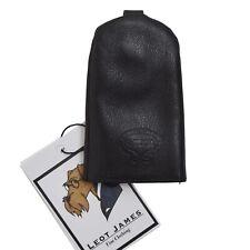 Giudi Schlüsselanhänger Keychain Leder Leather Schwarz Black CLASSIC COOL Ring