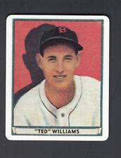 Ted Williams Danbury Mint Porcelain Reprint Card 1941 Playball #14
