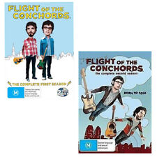 Flight Of The Conchords The complete Collection Season 1 & 2 DVD R4 New