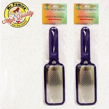 2 pcs Lot Mr. Mr Pumice META FOOT FILE Safe Remove Pedicure Callus Tool Remover
