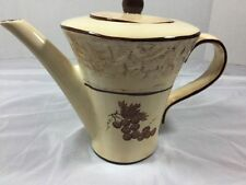 Bella Casa Grape Teapot Coffee Pot By Ganz