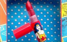 Wonder Woman Lipstick in Heroine. Sealed. Walgreen's Full Sized. Limited Edition