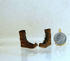 Pat Tyler Dollhouse Miniature Leather Top Riding Boots p365