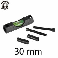 Spirit Level Bubble Alloy Fit 30mm Scope Ring Mount Holder Rifle Laser Hunting