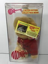The Monkees, Limited Edition Collectible Bear, Peter, MIP, 02654 of 10,000, 1999