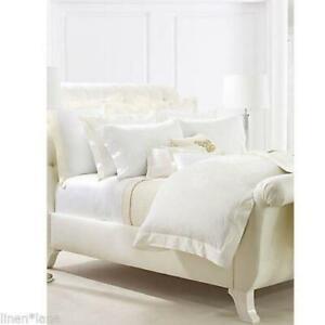 Ralph Lauren Penthouse Suite Coco De Mer Cream King Duvet Cover New