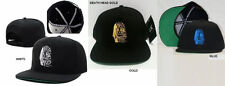 LAST KINGS SNAP BACK BASEBALL CAP HAT LAST KINGS DEATH HEAD BASEBALL HAT GOLD