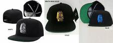 LAST KINGS SNAP BACK BASEBALL CAP HAT LAST KINGS DEATH HEAD BASEBALL HAT GOLD