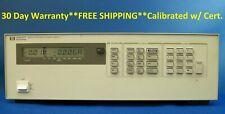 Agilent HP Keysight 6622A DC Power Supply, 50 V/2 A, 20 V/4 A, 80 W, Dual Output