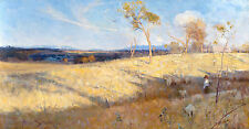 Arthur Streeton, Golden Summer Eaglemont 1889, Fade Proof HD Art Print or Canvas
