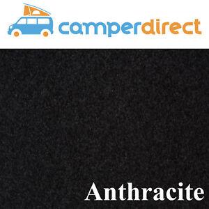 2m x 2m Anthracite Van Lining Carpet Kit 4 Way Stretch + 2 Tins High Temp Spray
