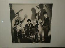 Talking Heads 1986 Poster Original Promo 19x19 Black & White