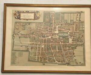Haga Comitis Vulgo 'S Graven-Hage Map