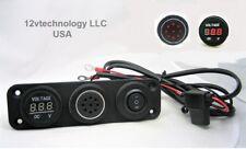 Tonal Low Battery Voltage Monitor 12V Bank Detector Discharge Voltmeter Alarm