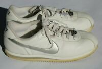 Nike Cortez '72 (2008) White Leather Sneakers, Shoes, Women's Size 8