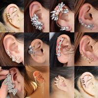 New Fashion Gothic Punk Temptation Metal Dragon Bite Ear Cuff Wrap Clip Earring*