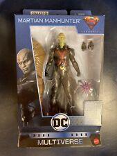"DC Multiverse ~ 6"" MARTIAN MANHUNTER Wave 8 Clayface BAF"