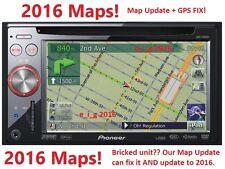 PIONEER AVIC-F900BT / AVIC-F90BT / AVIC-F700BT 2016 MAP UPDATE & GPS REPAIR FIX