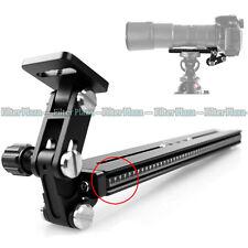 TH-01 + 250mm Rail Telephoto Zoom Lens Bracket Long-Focus Camera Support Holder