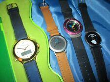 4 x  Armbanduhr ,Werbe - Uhr , Limited Edition , Motorola , Camelia , Pharmadies