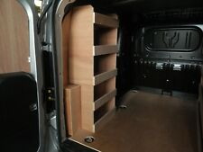 Vauxhall Combo L1 2012 on-wards Near Side Plywood Racking, Van Racking