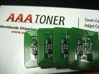 4pk Toner Chip for OKI C710n, C710dn, C711N, C711dn Refill (USA, Mexico, Latin)