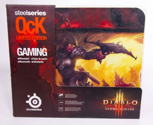 SteelSeries QcK Diablo III Gaming Mouse Pad Demon Hunter New