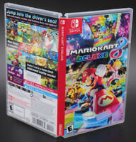 Mario Kart 8 Deluxe Nintendo Switch Replacement Game Case & Insert No Game Disc