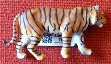 ZOO ANIMAL REPLICAS TIGER Small Replica - Size approx 8 cm long by 4 cm high