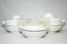 3 Pc Hot Pot Food Warmer Storage Round Insulated Casserole Set Moss WHITE PRO