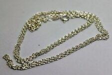 White Sterling Silver Chain Fine Necklaces & Pendants