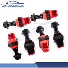 6pcs For Nissan Skyline R32 R33 RB20 RB25 RB26 S1 Series 1 Ignition Coil Pack