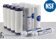 5 Stage RO Reverse Osmosis Water Filter Replacement NSF 14 filters 1-2 yr supply