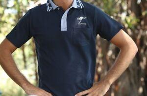 Sport Soccer Football Rugby Jersey Top Polo T-Shirt Australia Souvenir No Pocket