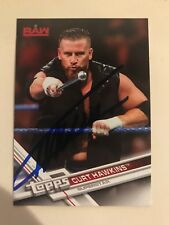 Curt Hawkins Signed WWE Topps 2017 Then Now Forever Card Autograph