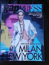 GAP PRESS MAGAZINE 2009-2010 autumn and winter volume 87  Pret-A-Porter