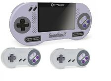 SUPABOY S Portable Pocket Handhel SNES Console w TV Output +2x Controller BUNDLE