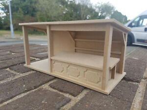 24th Scale Extended Market Stall (Kit)