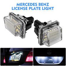 2X LED Lampe Lumière Plaque d'immatriculation Mercedes Benz W204 W221 W212 W216