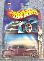 2004 Hot Wheels #028of100 First Editions Chevy Fleetline 1947 Lace whl variation