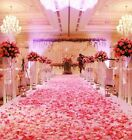 1000Pcs Silk Rose Celebration Petals Confetti Flower Wedding Party Decorations