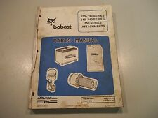# BOBCAT 630-730 640-740 AND 750 SERIES ATTACHMENTS PARTS MANUAL