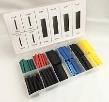 120pc Heat Shrink Wire Wrap Assortment Tubing Electrical Color Code Cable Set