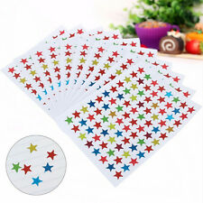 880Pcs New  Star Shape Stickers Labels For Children Teacher Reward DIY Craft h